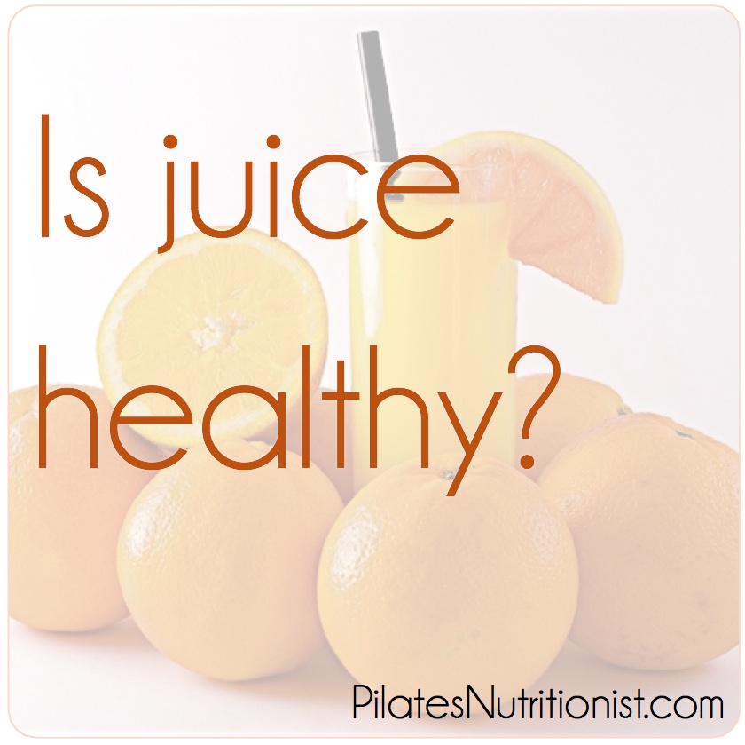 Is juice healthy?