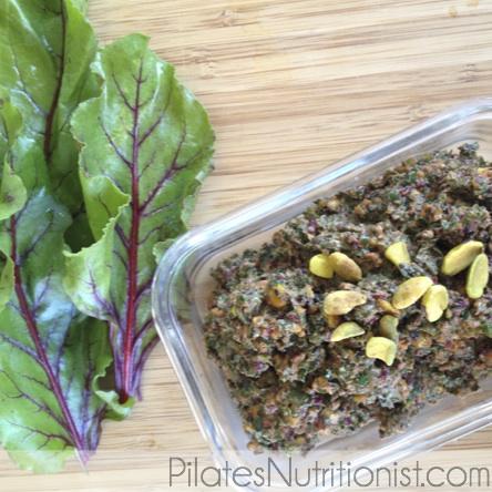 pistachio-beet-pesto