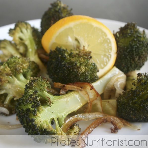 Meyer Lemon Roasted Broccoli
