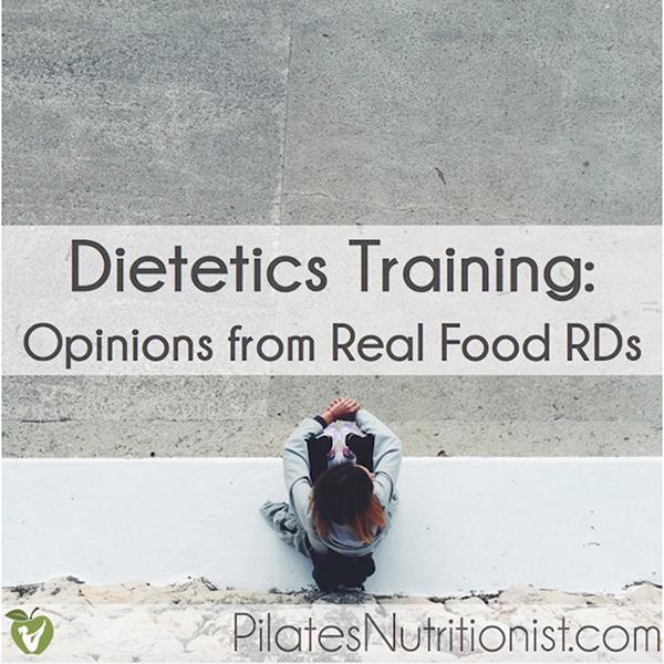 Dietetics Training