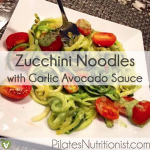 Zucchini Noodles with Garlic Avocado Sauce thumbnail