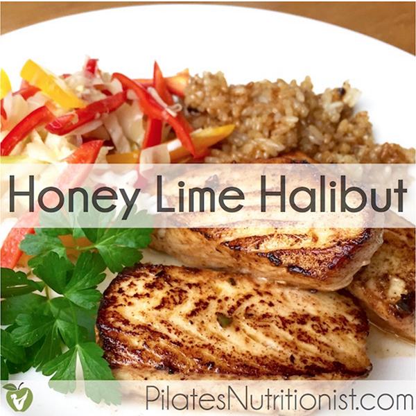 Honey Lime Halibut