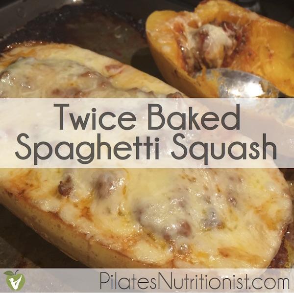 Twice Baked Spaghetti Squash